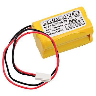 Dantona 4.8-Volt 800 mAh Ni-Cd battery for Day-Brite - CXL6VBXT Emergency Lighting