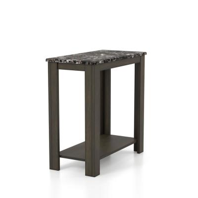 23.63 in H Marchant Black End Table