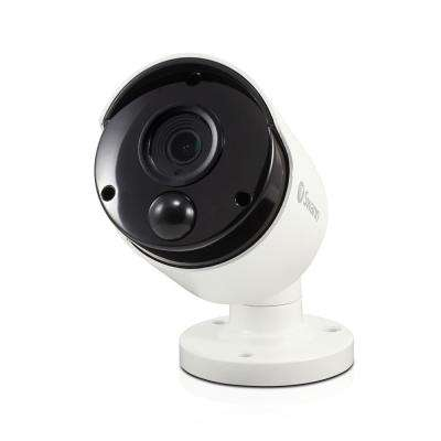 5MP Wired Bullet Security Camera with PIR Motion Sensor and 100 ft. of Night vision