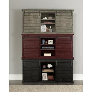 Progressive Furniture Huntington 64 in. Distressed Red ...