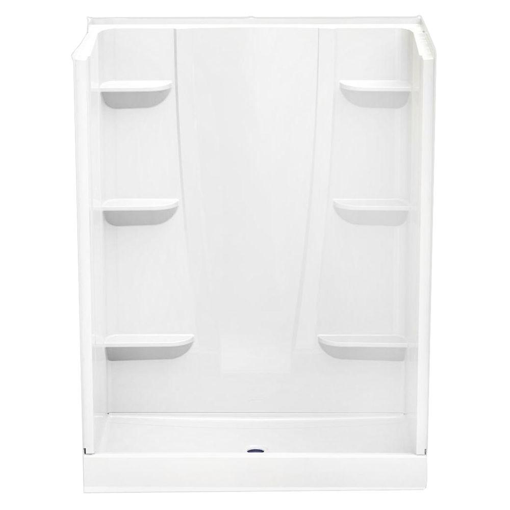 A2 34 in. x 60 in. x 76 in. Shower Stall