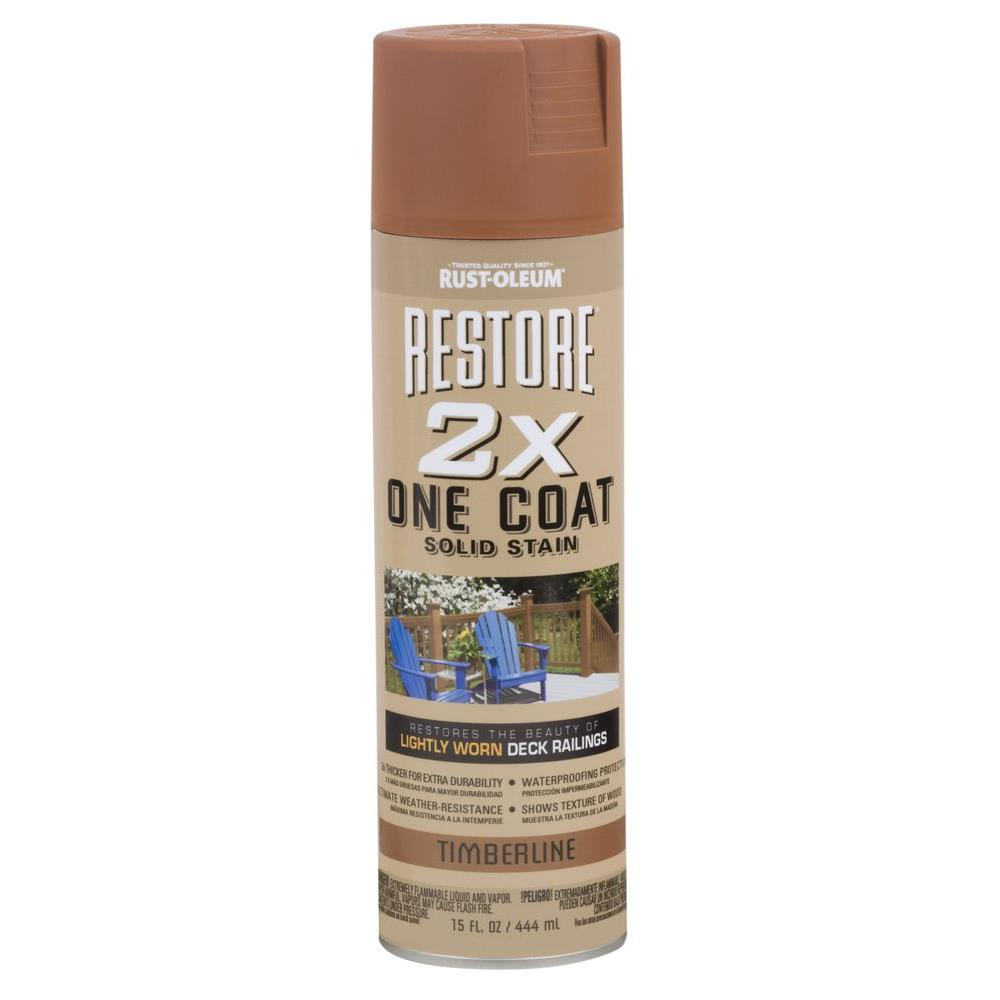 15 oz. 2X One Coat Timberline Solid Stain Spray (Case of