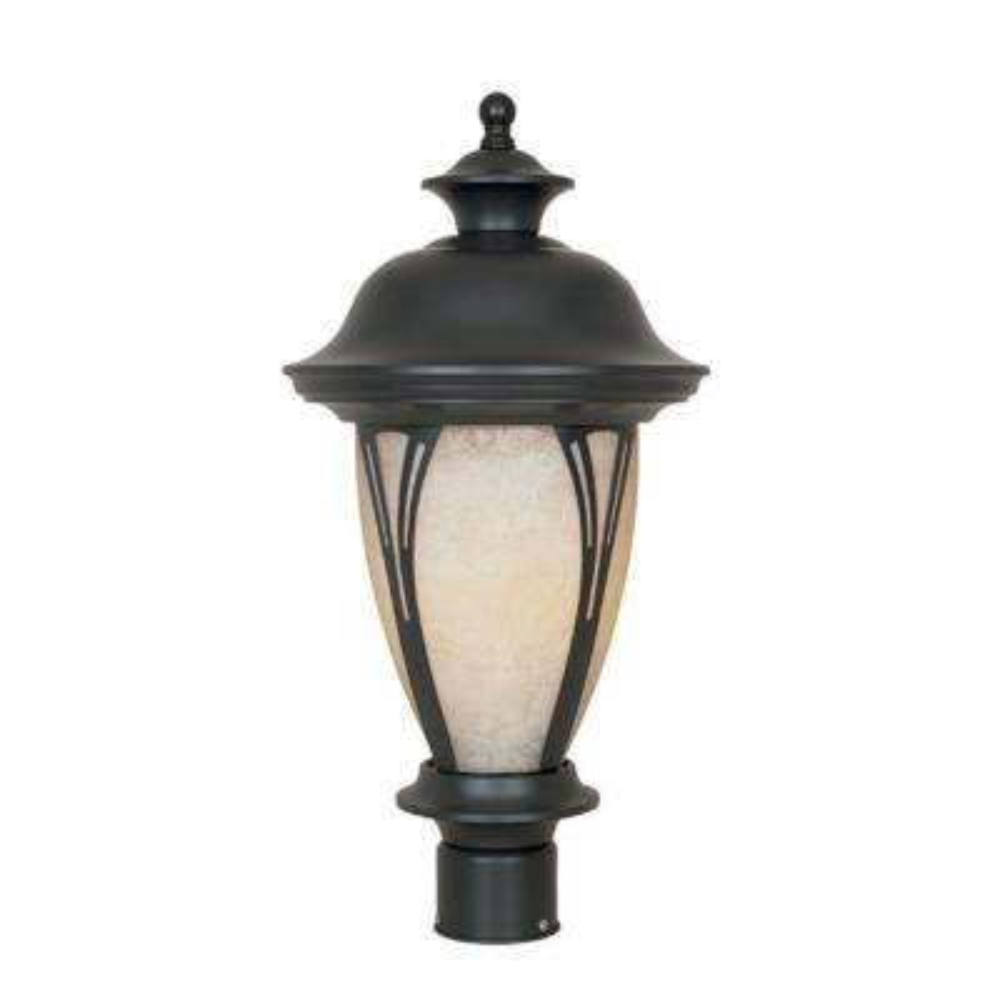 Westchester 3-Light Outdoor Bronze Post Lantern