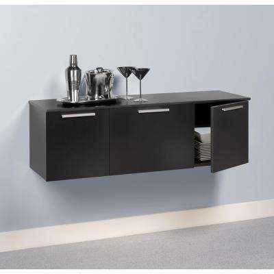 Coal Harbor Black Buffet with Storage