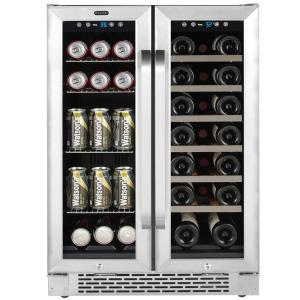 Built In French Door Dual Zone 20 Bottle Wine And 60