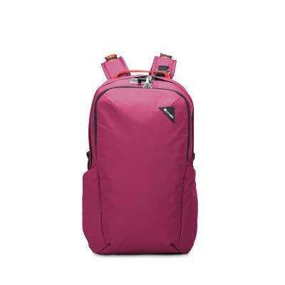 Vibe 19 in. Dark Berry Backpack with Laptop Compartment