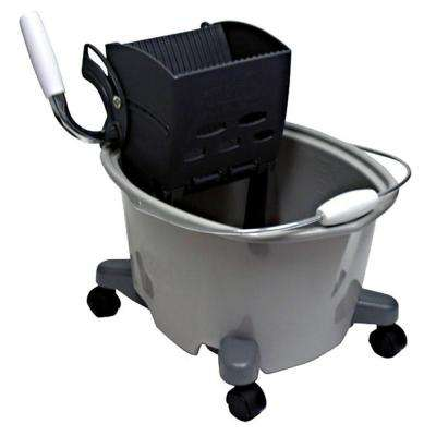 20 Qt. Plastic Mop Bucket with Wringer
