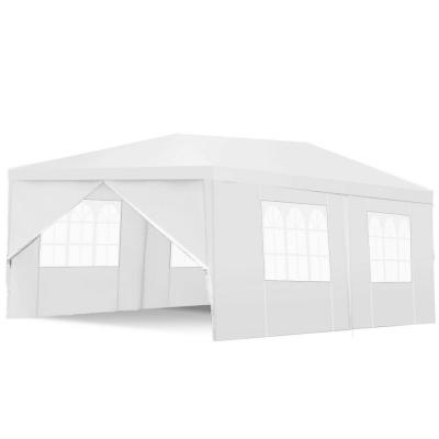 20 ft. x 10 ft. Heavy-Duty Canopy Party Wedding Tent Gazebo Cater Event with Side Walls