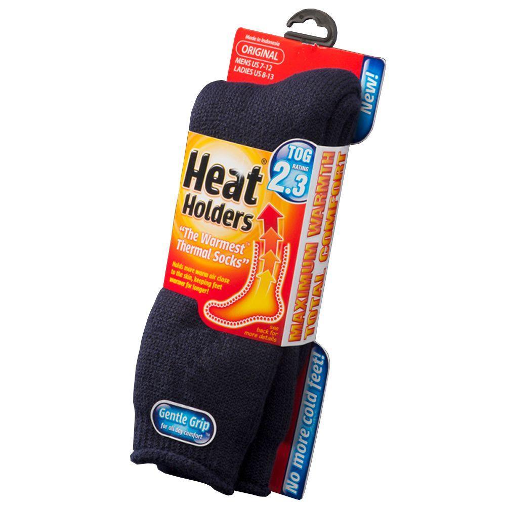 Mens Heat Holder Socks in Navy