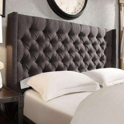 Wentworth Charcoal King Headboard