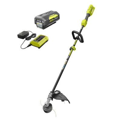 Reconditioned 40-Volt Lithium-Ion Cordless Attachment Capable String Trimmer with 4.0 Ah Battery and Charger Included