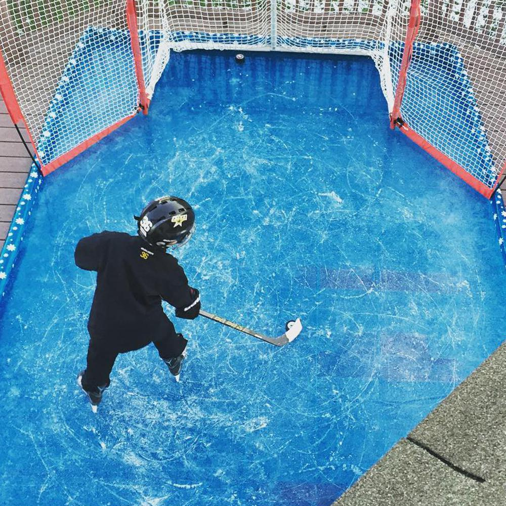 Backyard Ice Rink Kit Home Depot