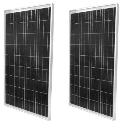 100-Watt Polycrystalline Solar Panel (2-Pack)