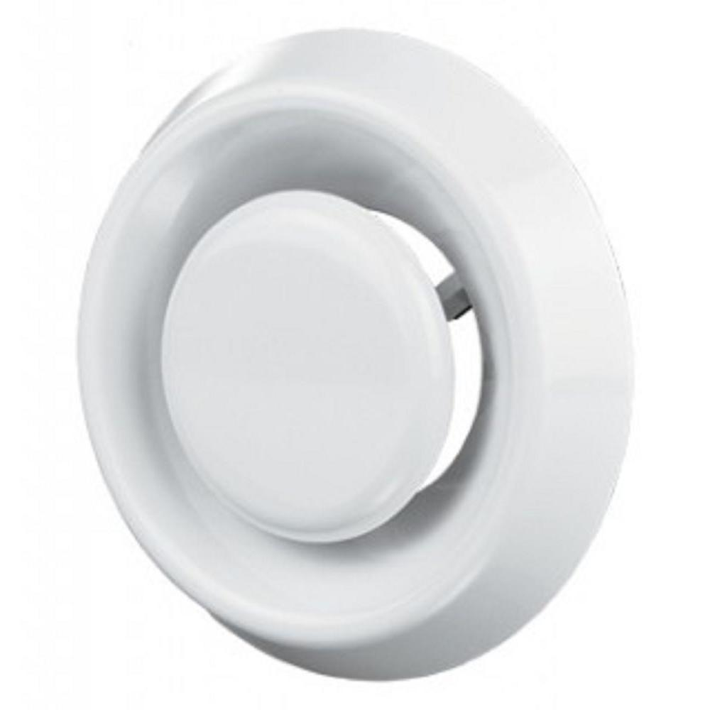VENTS-US 5 in. Plastic Diffuser with Flange
