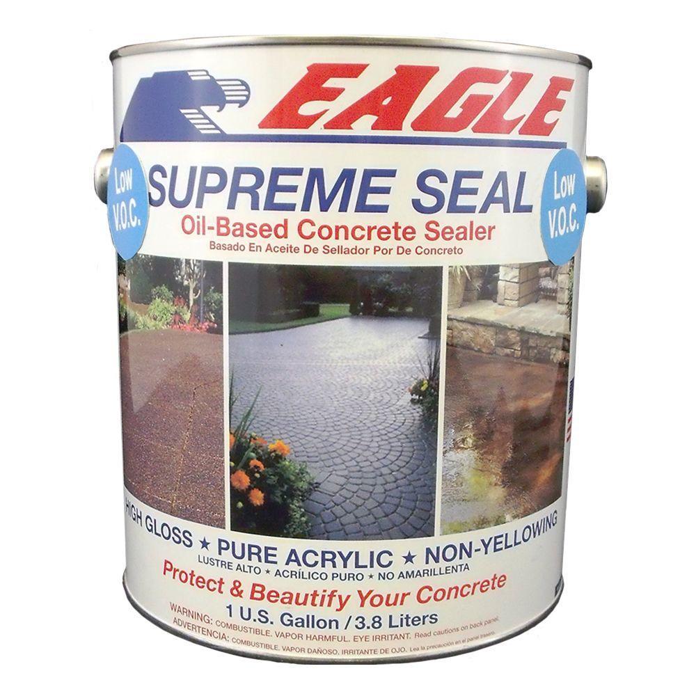 Supreme Seal 1 gal. Low VOC High-Gloss Solvent-Based Concrete Sealer