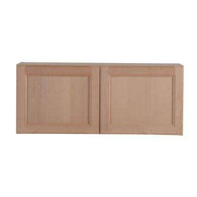 Embled 36x12 5x15 In Easthaven Wall Cabinet Unfinished