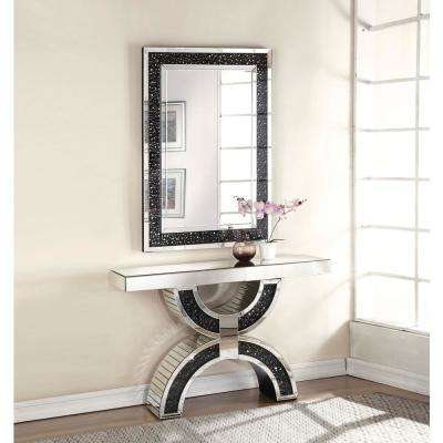Noor Mirrored and Faux GemStones Accent Mirror