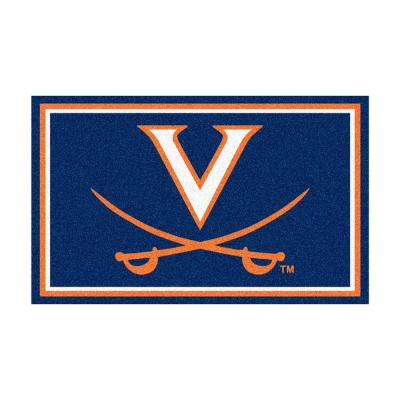 University of Virginia 4 ft. x 6 ft. Area Rug