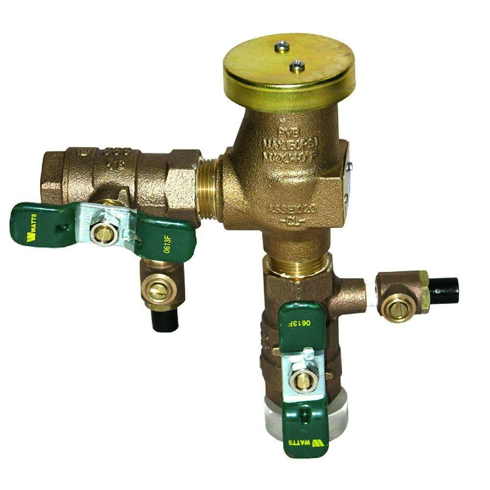 Watts 3 4 In Bronze Pressure Vacuum Breaker 800m4 Qt