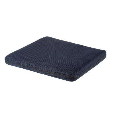 2 in. Navy Blue Thick Foam Pad Seat Cushion