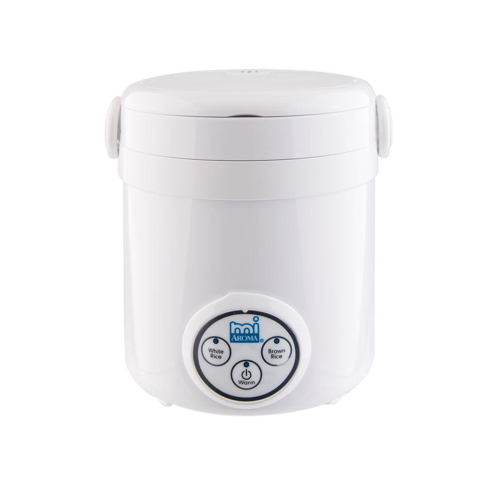 AROMA 3-Cup Mini Rice Cooker