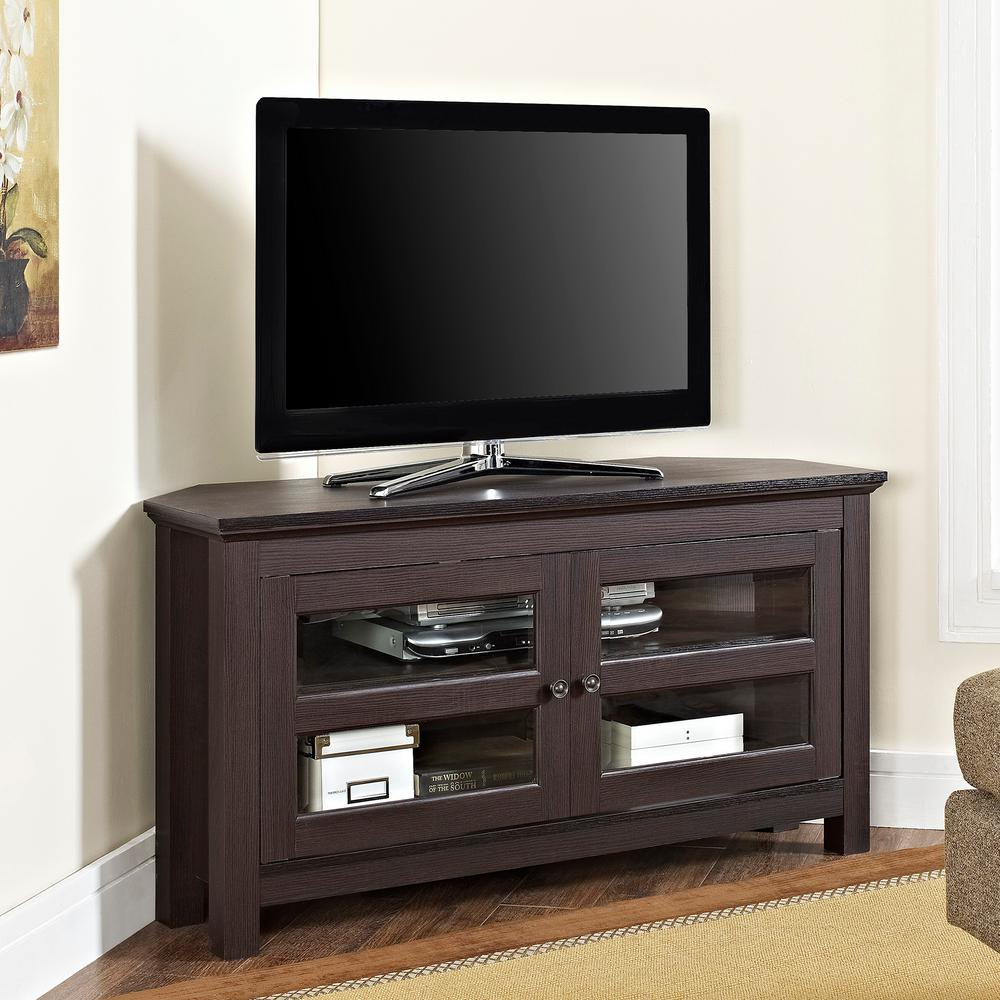Walker Edison Furniture Company Cordoba Espresso Entertainment Center