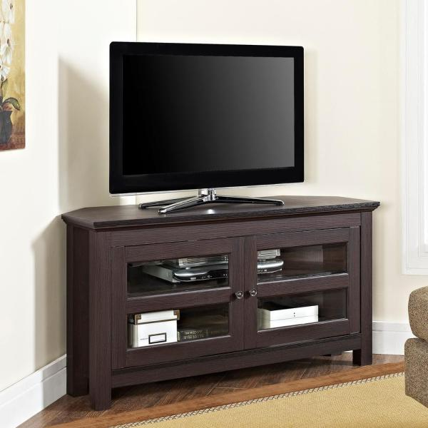 Walker Edison Furniture Company Cordoba Espresso Entertainment Center HDQ44CCRES