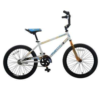 Growl White Ready2Roll 20 in. Kids Bicycle
