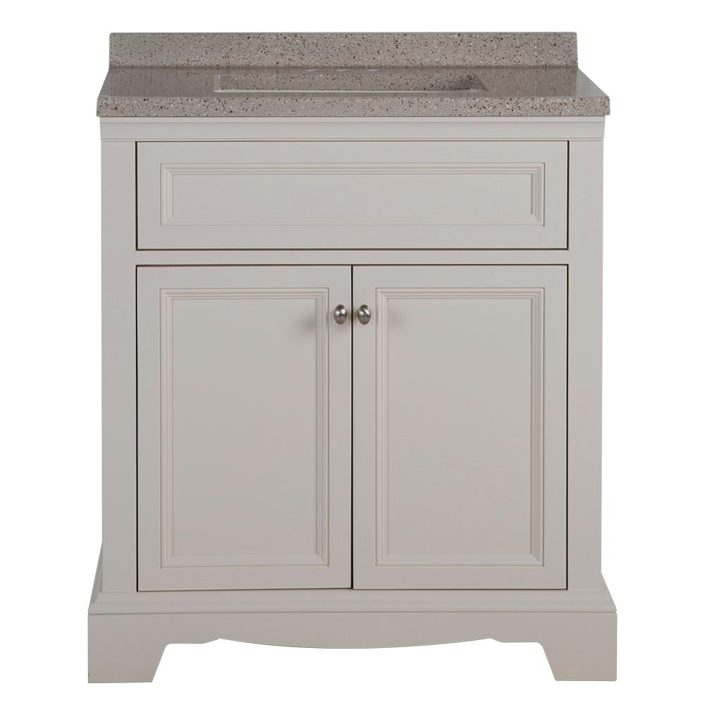 Home Decorators Collection Windsor Park In W X In D Vanity In Cream With Solid