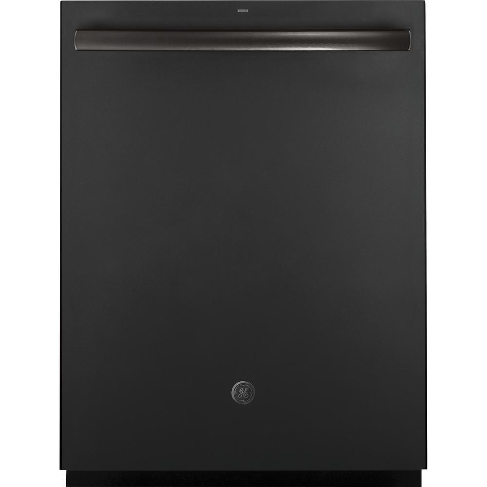 Ge Top Control Tall Tub Dishwasher In Black Slate With