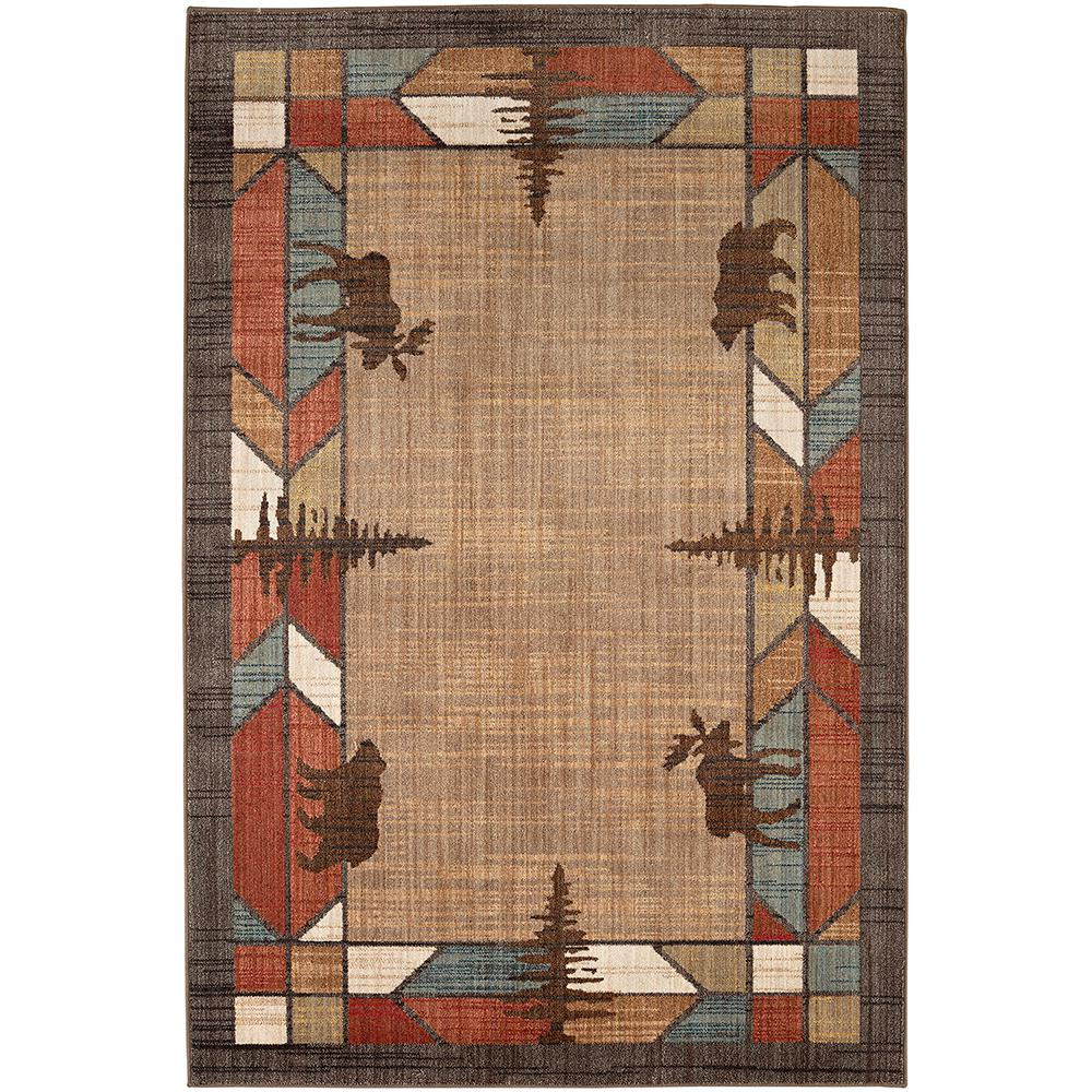 Mohawk E Multi 5 Ft X 8 Area Rug