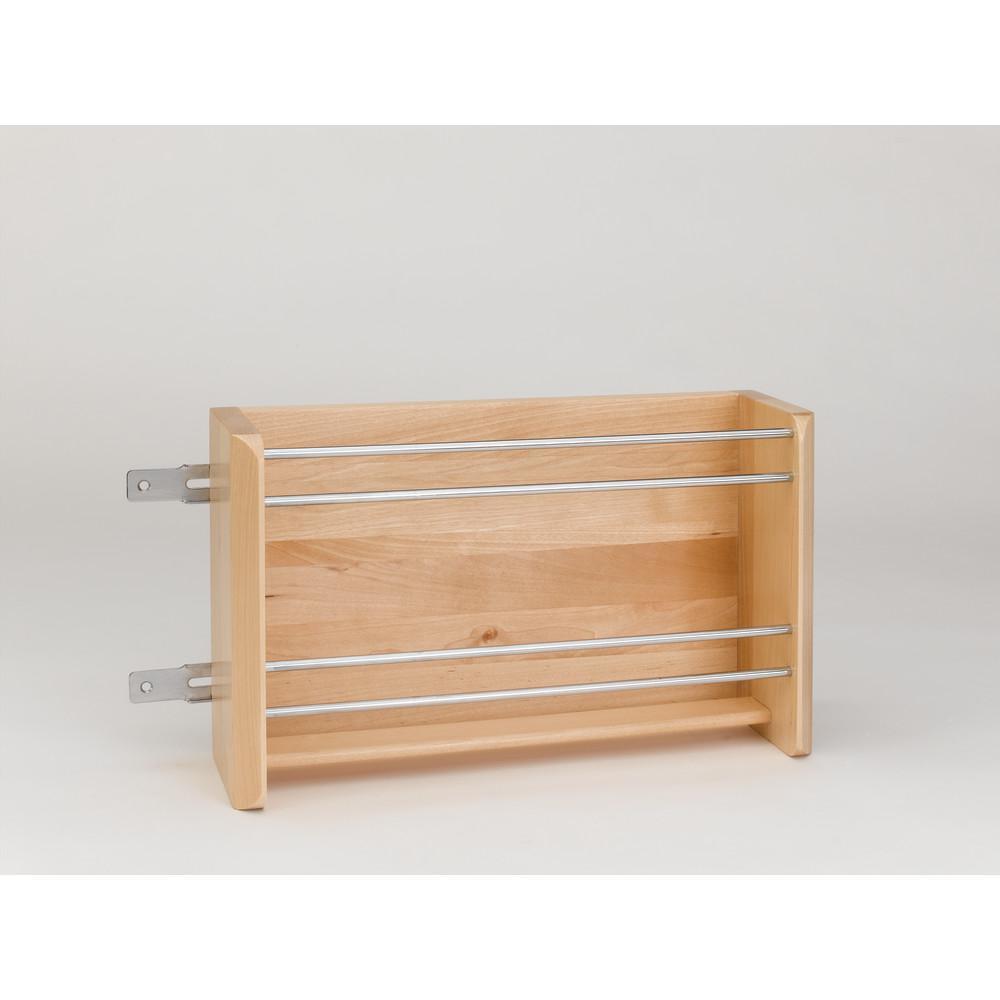 Rev A Shelf 65 In H X 1275 In W X 35 In D Chrome Cabinet Door