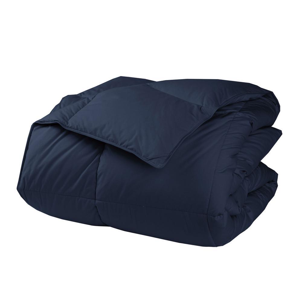 LaCrosse Navy Blue Twin XL Down Comforter
