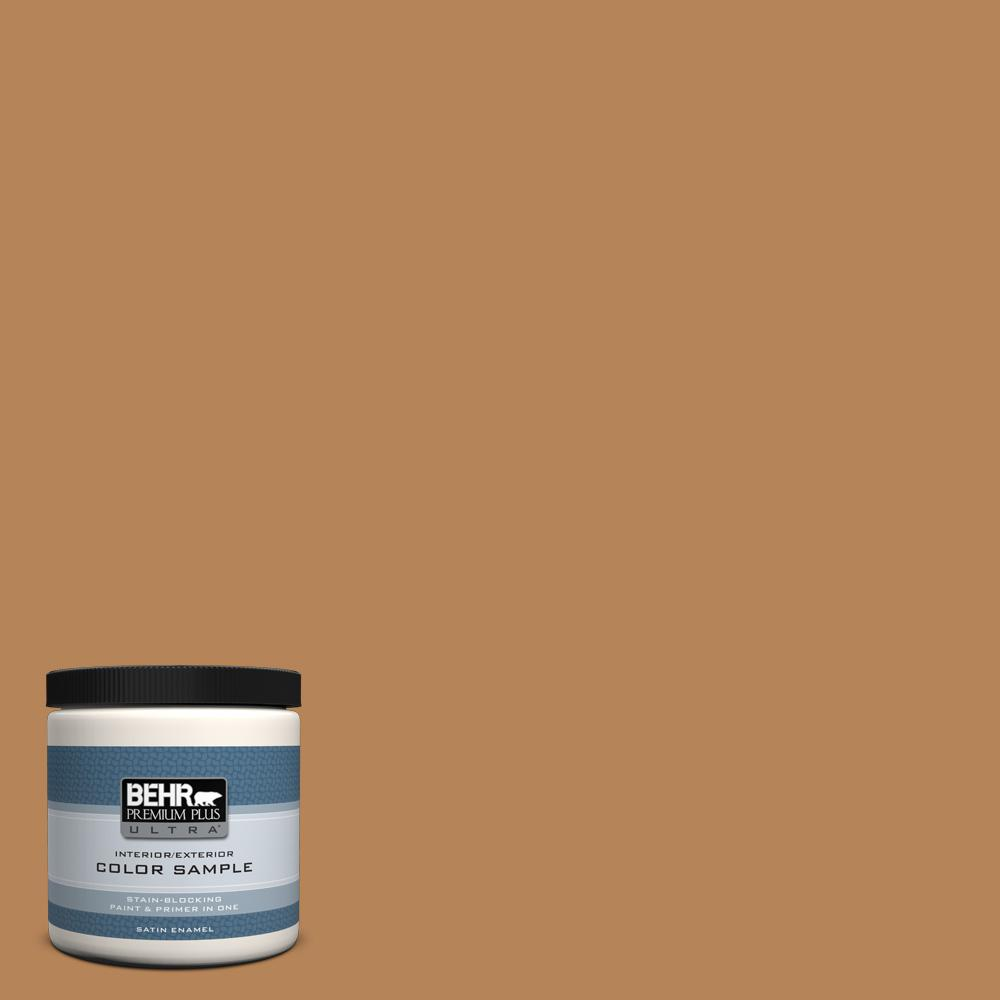 Behr Premium Plus Ultra 8 Oz S270 6 Almond Brittle Satin