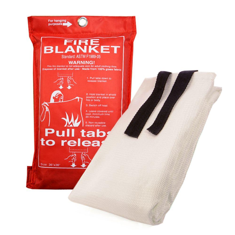 null Emergency Fire Extinguishing Blanket
