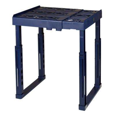 12 in. W x 14 in. H x 10 in. D Adjustable Locker Shelf in Blue