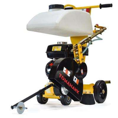 14 in. 6.5 HP Walk Behind Concrete Saw for Asphalt and Slab Sawing