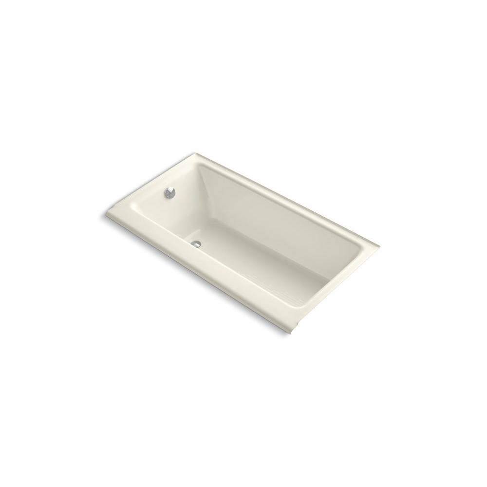 KOHLER Highbridge 5 ft. Bathtub in Biscuit-DISCONTINUED