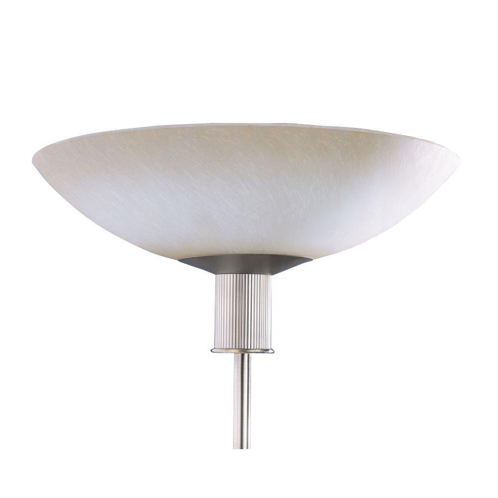 Kendal Lighting Cassiopeia 6.5 in. Antique Brass Incandescent Floor Lamp