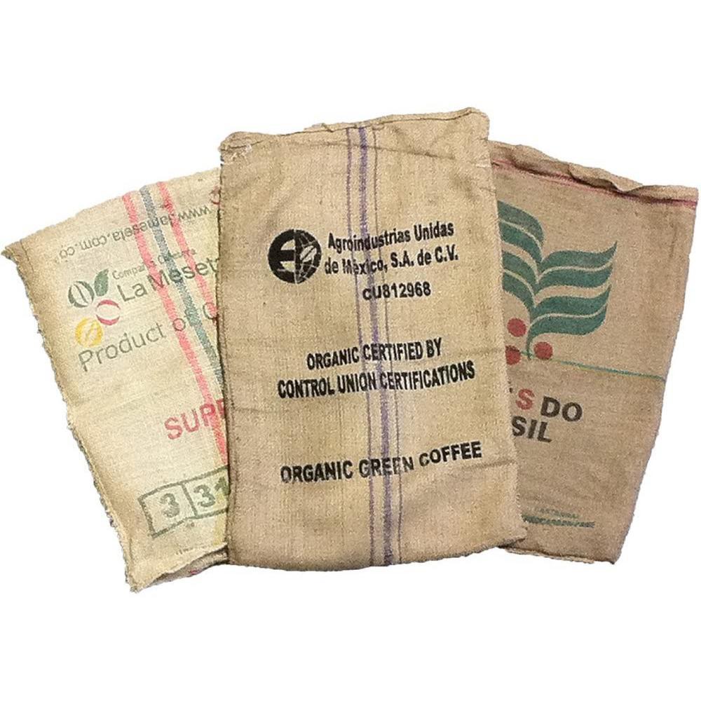10 Burlap Bags