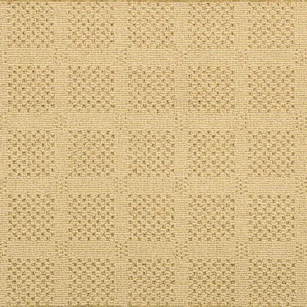 Carpet Sample- Desert Springs - Color Straw Pattern 8 in. x 8 in.