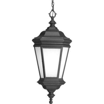 Crawford Collection 1-Light Black Hanging Lantern