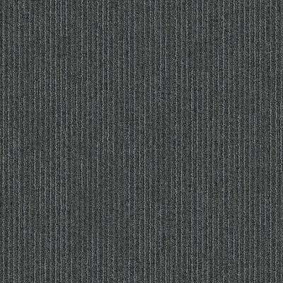 Second Nature Seal Patterned 24 in. x 24 in. Carpet Tile (24 Tiles/Case)