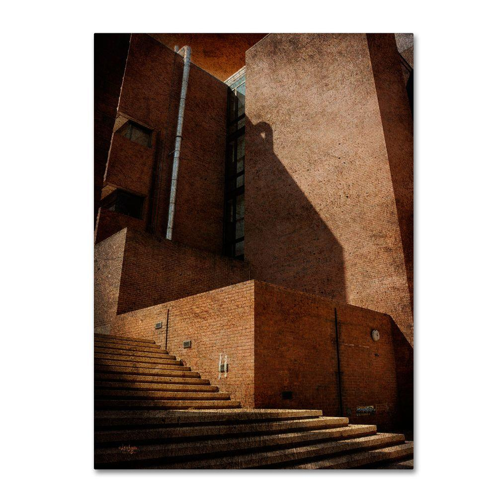 Trademark Fine Art 19 in. x 14 in. Shadow and Light Canvas Art