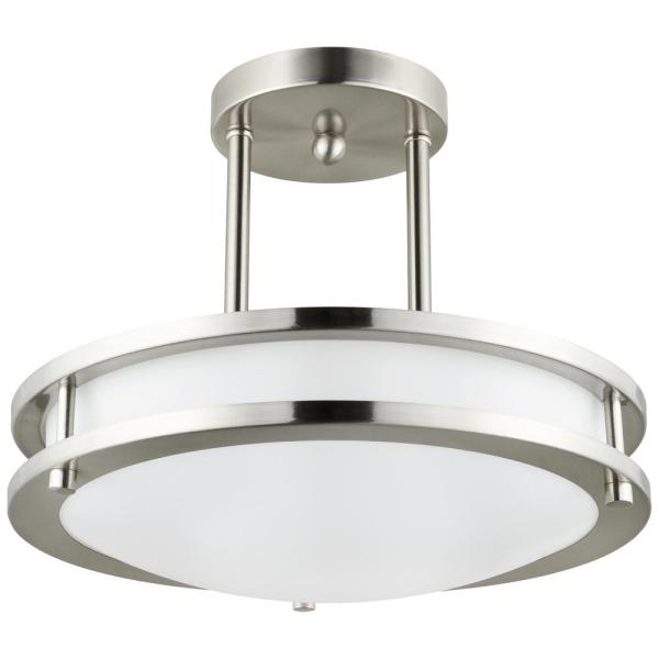 Sunlite 12 In 1 Light Brushed Nickel