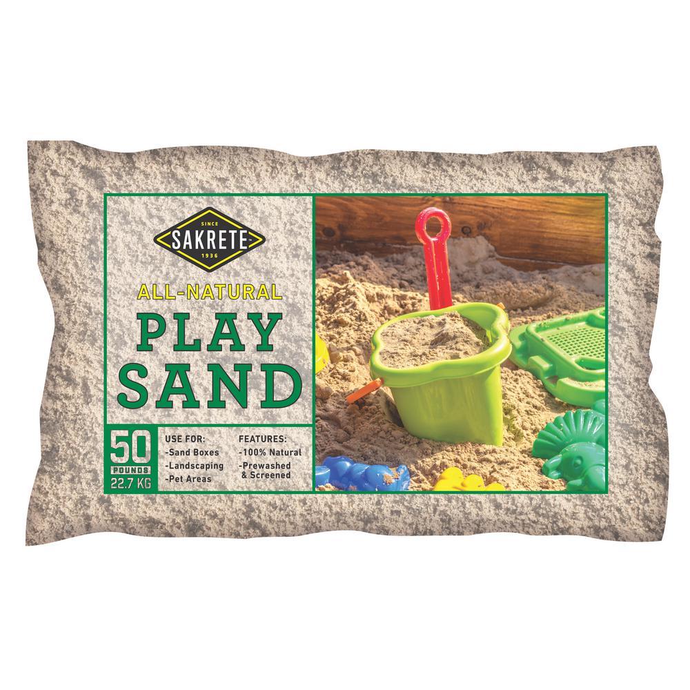 Sakrete 50 Lb Play Sand 40100301 The