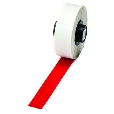Handimark B-595 2 in. x 50 ft. Indoor/Outdoor Vinyl Red Film Tape 1 per Roll