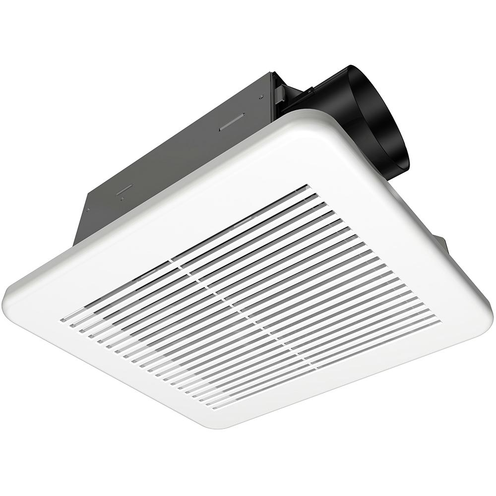 Hampton Bay 50 Cfm Ceiling Bathroom Exhaust Fan 7114 01 The Home Depot Fans Wiring Green Ground Free Download