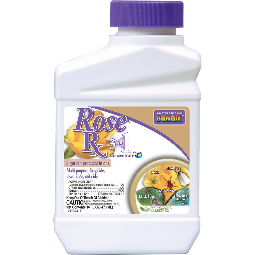 Bonide BONIDE 16 oz Rose Rx® 3-in-1 Concentrate