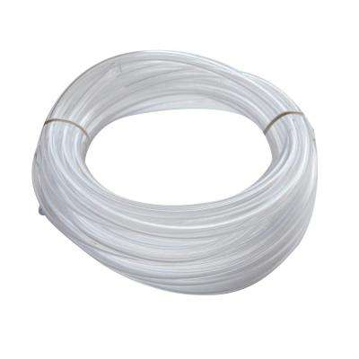 1/4 in. O.D. x 0.170 in. I.D. x 20 ft. PVC Clear Vinyl Tube